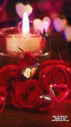 Good Night Love Images, Good Night Gif, Beautiful Love Pictures, Love You Images, Beautiful Gif, Wallpaper Nature Flowers, Flower Phone Wallpaper, Beautiful Nature Wallpaper, Imagenes Gift