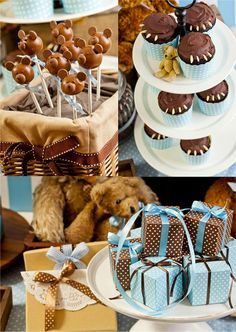 Teddy Bear themed Shower