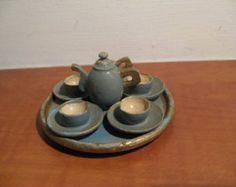 Afbeeldingsresultaat voor wooden teapot dollhouse