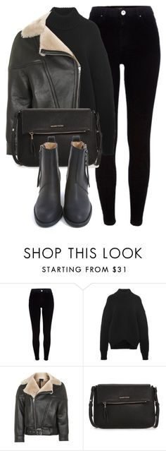 """Untitled #6357"" by laurenmboot ❤ liked on Polyvore featuring River Island, Brock Collection, Topshop, MANGO and Acne Studios"