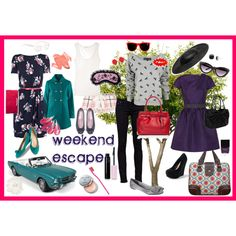 weekend escape, created by ms-aja-james.polyvore.com