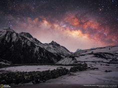 The Milky Way over the Himalayas  Website: http://www.acethehimalaya.com/