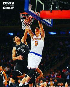 f405ffb22383 Porzingis on Lopez Nba Knicks