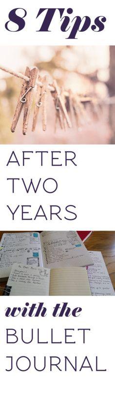 Long title image for 8 Bullet Journal tips   Littlecoffeefox.com
