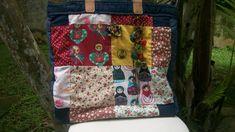 Nossas combinações servem tanto para almofadas quanto para bolsas. Confira as estampas!  Escolha a sua e entre em contato! R$ 120,00