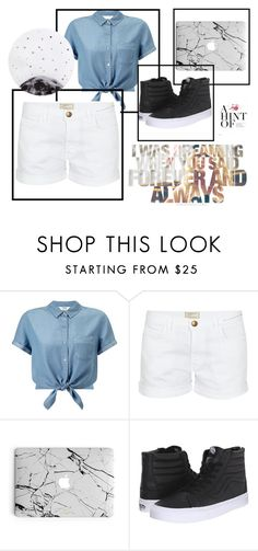 """""""Sin título #179"""" by accp06 ❤ liked on Polyvore featuring Miss Selfridge, Current/Elliott, Vans and Lollipop"""