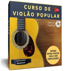 CURSO DE GUITARRA BRASIL ON-LINE: Curso de Violão Popular com Certificado - Promoção... E Book, Music Instruments, Popular, Music Teachers, Guitar Classes, Certificate, Brazil, Tips, Sheet Music