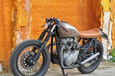 "I hate when the ""Rat Bike"" is used to describe a nice bike with patina. This is no rat bike this is just a nice bike. BTW, I Love the Patina!  Yamaha XS650 Acid King ~ Return of the Cafe Racers"