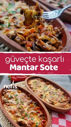 Güveçte Kaşarlı Mantar Sote – Nefis Yemek Tarifleri – How to Make Cheese Sauteed Mushroom Saute Recipe? Illustrated explanation of this recipe in the book of people and photos of those who try it are here. Burger Recipes, Lunch Recipes, Dessert Recipes, Yummy Recipes, Turkish Recipes, Ethnic Recipes, Healthy Casserole Recipes, Turkish Kitchen, Tasty