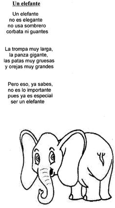 un elefante Preschool Spanish, Spanish Lessons For Kids, Teaching Spanish, Teaching Reading, Elementary Spanish, Spanish Vocabulary, Dual Language Classroom, Bilingual Classroom, Spanish Classroom