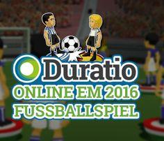 Das Duratio EM 2016 Fussballspiel - Spiele mit unserem Mini-Game die Europameisterschaft jetzt online