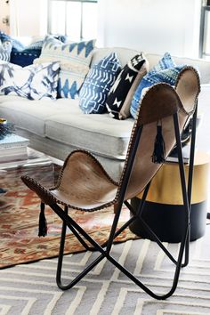 Tassel Butterfly Chair