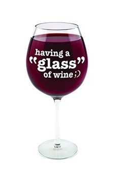 BigMouth Inc Gigantic Wine Glass  Having a Glass of Wine * Click image for more details.Note:It is affiliate link to Amazon.