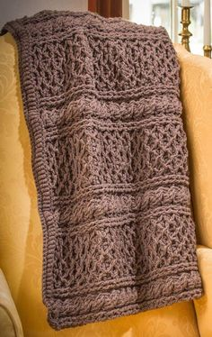 [Free Crochet Pattern] Get Cozy With This Classic Downton Abbey Mrs. Hughes' Afghan