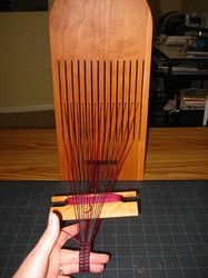18th Century Tape Loom Article at Heather's Pages.