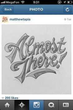 lettering by Matthew Tapia