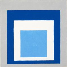 "from the Josef Albers series ""Homage to the Square"""