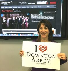 """Heart"" is an understatement when it comes to this #DowntonPBS fan! #iheartdowntonabbey http://www.thirteen.org/program-content/masterpiece-downton-abbey/"