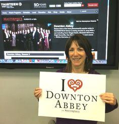"""Heart"" is an understatement when it comes to this #DowntonPBS fan! #iheartdowntonabbey http://www.thirteen.org/program-content/masterpiece-downton-abbey/"