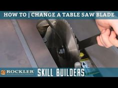 Chip carving knife from an old saw blade sierra de mesa how to change a table saw blade learn how to change a table saw blade greentooth Images