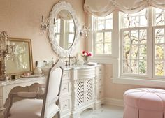 Traditional Master Bathroom with Carpet by Martha O'Hara | Zillow Digs