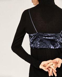 Image 6 of VELVET TOP from Zara