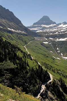 Going to the Sun Road - Glacier Nat Park...been there a few times..beautiful drive!