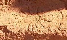 Petroglyph at Lava Beds National Pa rk.
