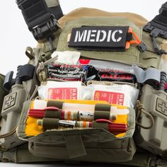 Tactical Medic, Tactical Vest, Wildland Firefighter Gear, Pouch Bag, Pouches, Edc, Combat Medic, Medical Bag, Tac Gear