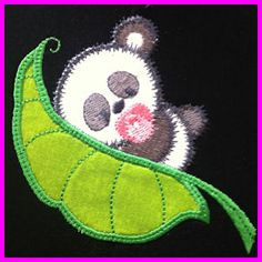 PeaPods - set of 8 - Free machine embroidery designs - Kreative Kiwi