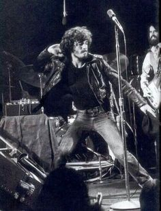 Bruce Springsteen during a concert in the 1970s.                                                                                                                                                                                 More
