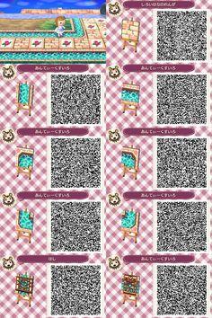 Animal Crossing: New Leaf QR Code Paths Pattern : Photo