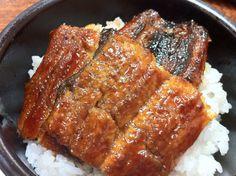 Broiled eel and rice (丸井亭・飯田市)  #iida