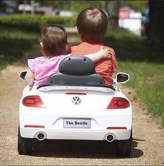 VW kids mini beetle love