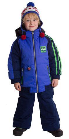Little Boys Obermeyer Slopestyle Ski Jacket Outfit