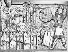 Guerreiros assírios sitiando uma cidadela (Campanhas de Tiglath Pileser III)