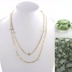 Pricefirm Colette Malouf Green Amethyst Necklace