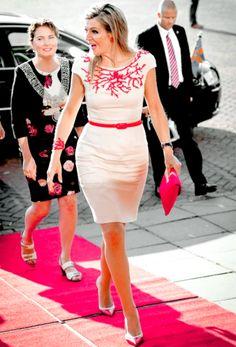 KONINKLIJK HUIS: 13 September: Queen Máxima visited the MBO College Amstelland…