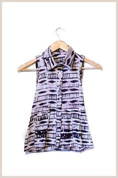 Emelienne Batik Shirt by Indego Africa. #fairtrade