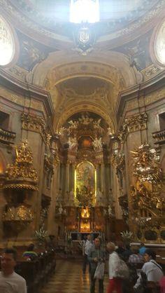 Peterskirche.  Viena.  Austria