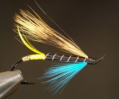 Salmon Fly Patterns for beginner | Fly Tying Patterns for beginners – Copperfly.net – Blue Charm ...