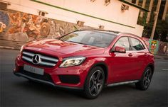 Mercedes lança no Brasil o esperto GLA 250 +http://brml.co/1IhQ2BV