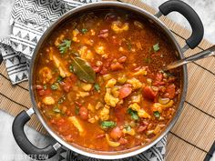 Warm intoxicating spices make this vegetable filled Moroccan Lentil and Vegetable Stew perfect for cold Autumn nights. Delicious Vegan Recipes, Spicy Recipes, Lunch Recipes, Cooking Recipes, Vegan Meals, Easy Recipes, Healthy Recipes, Lentil Stew