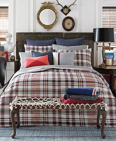 Tommy Hilfiger Vintage Plaid Full/Queen Comforter Set