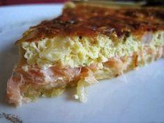 Mincir avec thermomix - Spécial régime DUKAN : Quiche au saumon et aux poireaux…