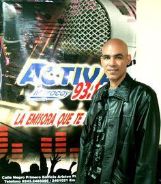 Visita de Oromashis a Radio Activa 93.1 FM.