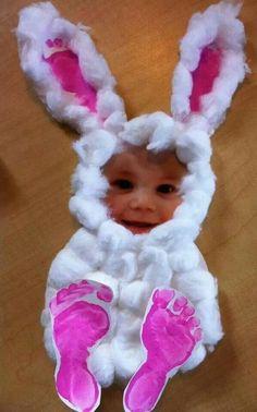 Bunny photo craft