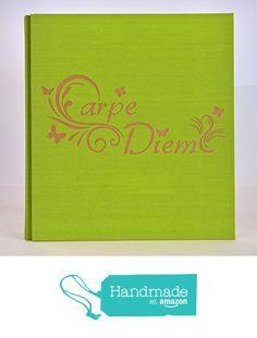 Album fotografico in tela di lino e legno CARPE DIEM COLORE E FORMATO PERSONALIZZABILE nascita battesimo compleanno comunione nozze vacanze viaggio matrimonio da legnoegrafite https://www.amazon.it/dp/B06XVDZ92Q/ref=hnd_sw_r_pi_dp_Rcn2yb5BFYQTJ #handmadeatamazon