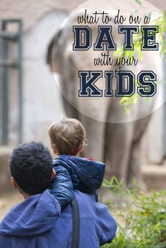 5 Fun activities to do to help you bond with your kids. When's the last time you went on a date with your kids?