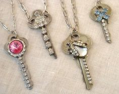 My Salvaged Treasures: Hardwear Jewelry and Old Keys
